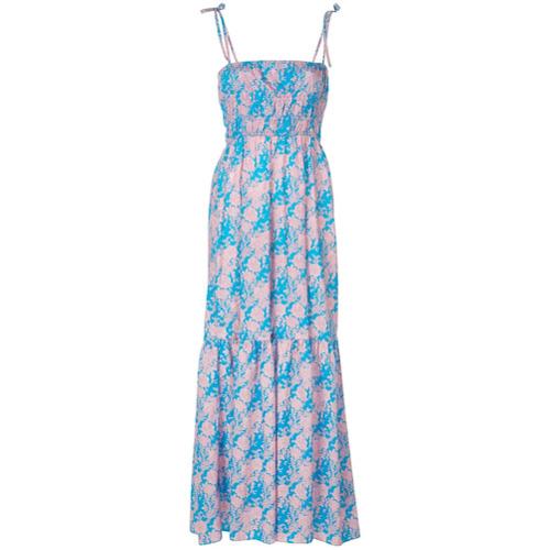 Cynthia Rowley Vestido Longo Azores - Azul