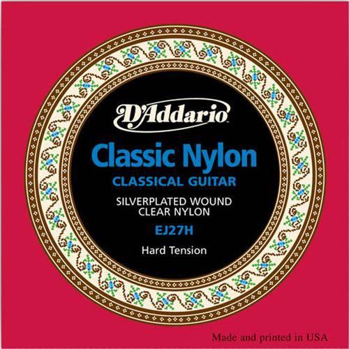 Tudo sobre 'D'addario - Encordoamento de Nylon Alta Hard Tension para Violão Ej27 H'