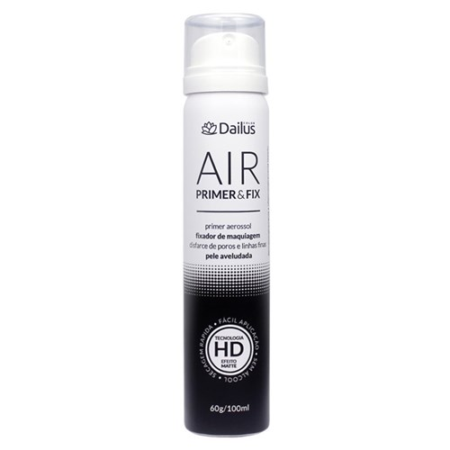 Dailus Air Primer & Fix Primer e Fixador de Maquiagem 100Ml