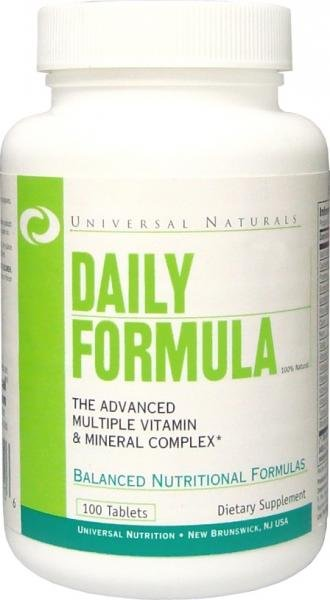 Daily Formula 100 Tabletes Universal Nutrition