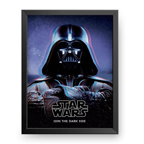 Darth Vader - Star Wars (Preta, 30x40cm)