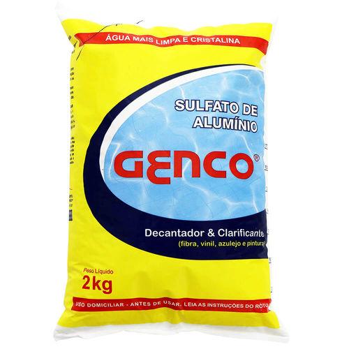 Decantador Genco Sulfato de Alumínio 2 Kg
