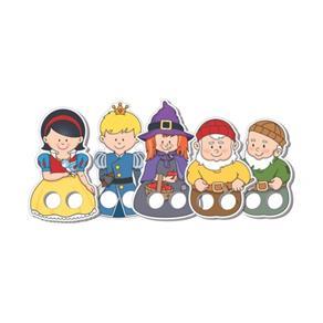 Dedoches Branca de Neve - ABC Brinquedos