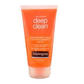 Deep Clean Grapefruit Sabonete Facial Neutrogena - Limpeza Facial - 150g