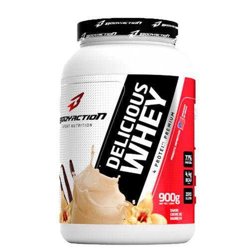 Tudo sobre 'Delicious Whey 900g Body Action'