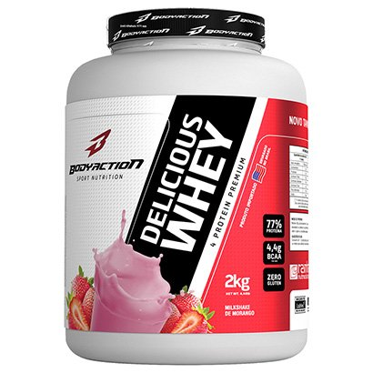 Delicious Whey 2 Kg - Body Action