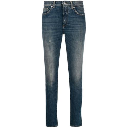 Department 5 Calça Jeans Slim Cropped - Azul
