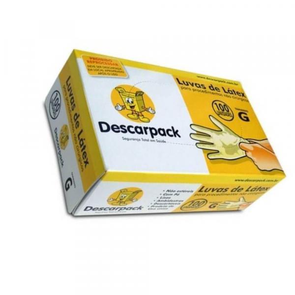 Descarpack Luvas Látex P/ Procedimentos G C/100