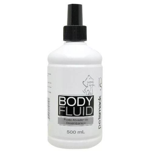 Tudo sobre 'Desembaraçador de Pelos Body Fluid Petsmack 500ml'