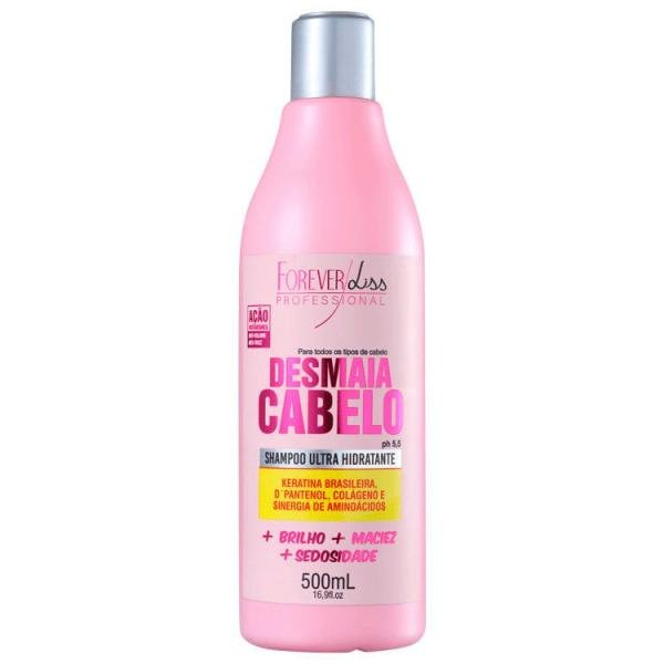 Desmaia Cabelo Forever Liss Shampoo 500ml