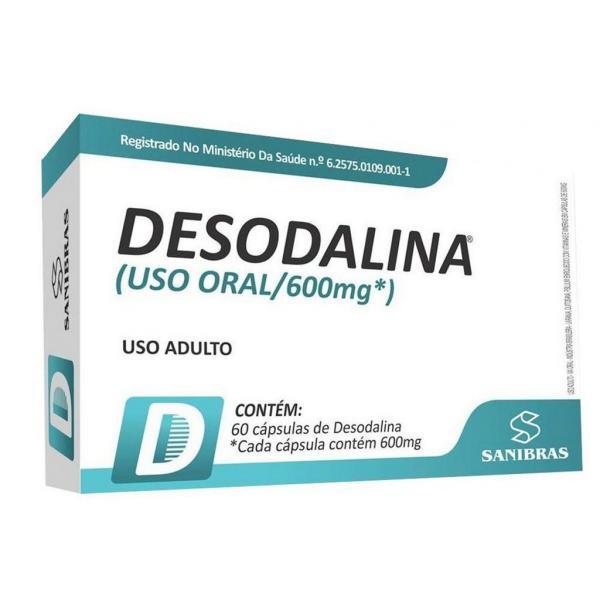 Desodalina 600mg 60cápsulas - Sanibras
