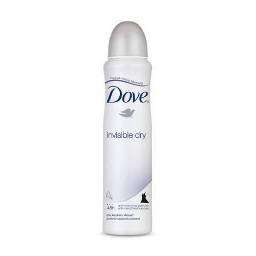 Tudo sobre 'Desodorante Aerosol Dove Invisible Dry com 100 Gramas'