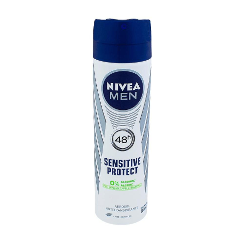Tudo sobre 'Desodorante Aerosol Nivea Sensitive For Men 150ML'