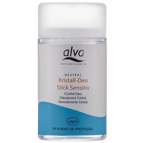 Desodorante Alva Stick Kristall Sensitivo Vegano 120g