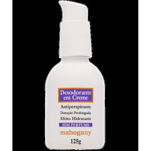 Tudo sobre 'Desodorante em Creme Mahogany 125g'