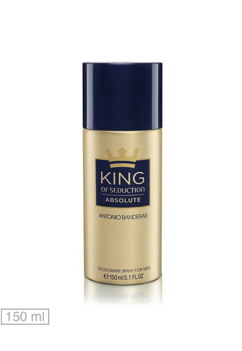Desodorante King Of Seduction Absolute Antonio Banderas 150ml