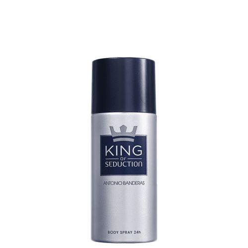 Desodorante Masculino King Of Seduction Antonio Banderas 150ml