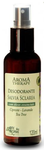 Desodorante Natural Sálvia 120ml Arte dos Aromas