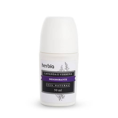 Tudo sobre 'Desodorante Natural Sem Alumínio Lavanda Herbia 50 Ml'