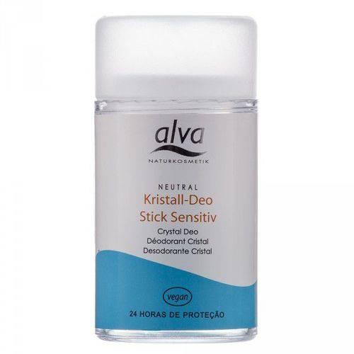Desodorante Natural Stick Krystall Sensitive Alva - 120g