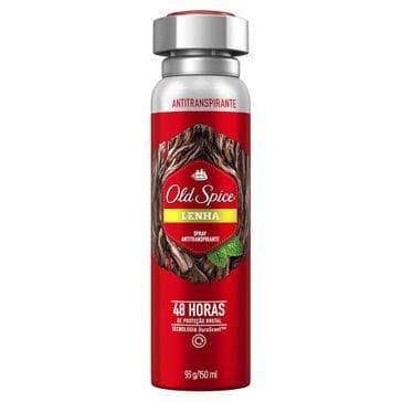 Tudo sobre 'Desodorante Old Spice Spray Lenha 93g'