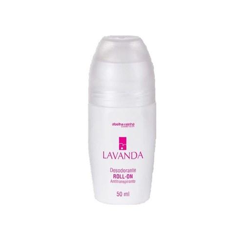 Desodorante Roll-On Antitranspirante Feminino Lavanda Abelha Rainha 50...