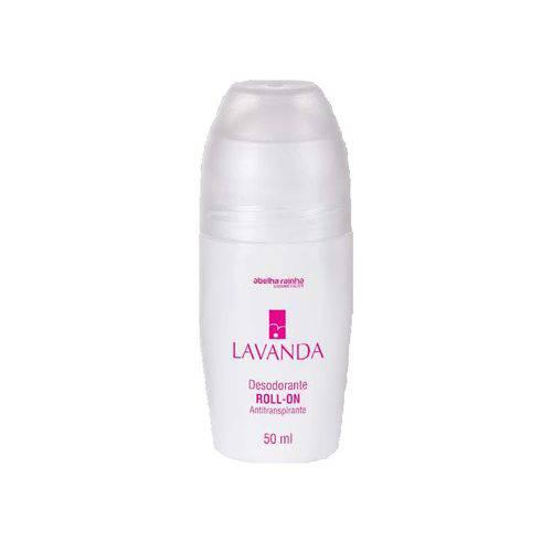 Tudo sobre 'Desodorante Roll-on Antitranspirante Feminino Lavanda Abelha Rainha 50ml'