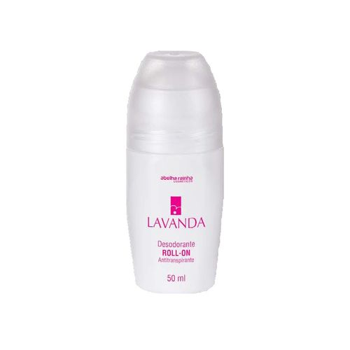 Desodorante Roll-on Antitranspirante Feminino Lavanda Abelha Rainha 50ml
