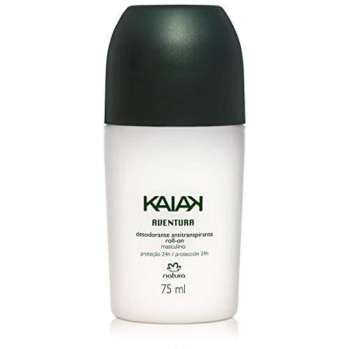 Tudo sobre 'Desodorante Rollon Kaiak Aventura Masculino Natura 75ml'