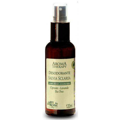 Desodorante Sálvia 120ml Arte dos Aromas