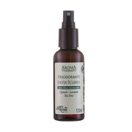 Desodorante Spray Natural Sálvia 120ml - Arte dos Aromas