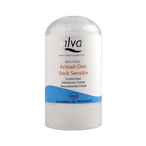 Desodorante Stick Kristall Sensitive 60g - Alva