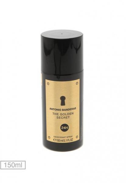 Desodorante The Golden Secret Masculino - Antonio Banderas