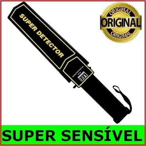 Detector de Metais Portatil Alta Sensibilidade Metal Scanner