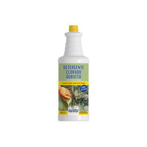 Detergente Clorado 1lt Limpa Bolor Duratto