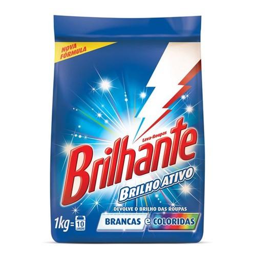 Tudo sobre 'Detergente em Pó Brilhante Multi Tecido 1kg'