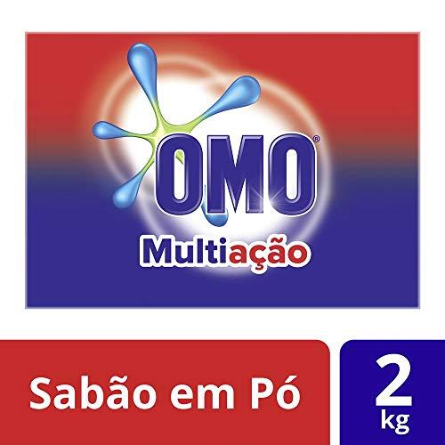 Detergente em Pó Multiação Poder Acelerador 2 Kg, OMO