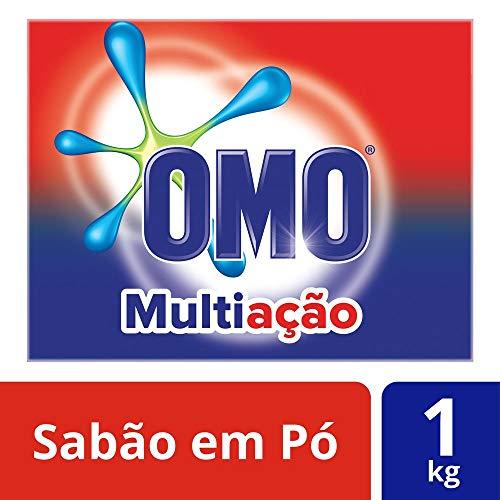 Detergente em Pó Multiação Poder Acelerador, OMO, 1 Kg