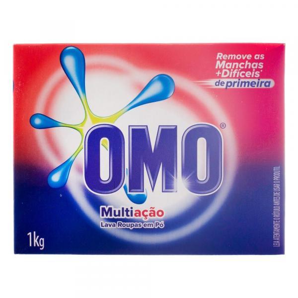 Detergente em Pó Omo Multiação 1Kg