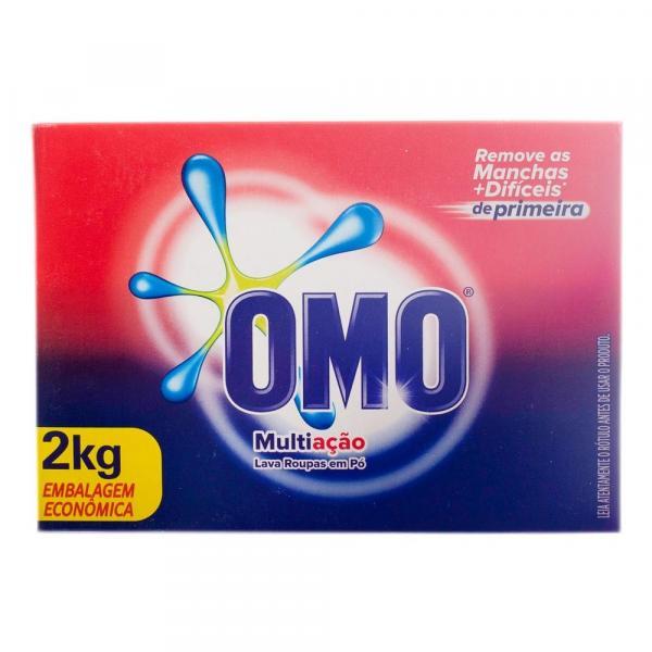 Detergente em Pó Omo Multiação 2Kg