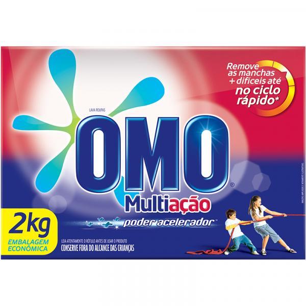 Detergente em Pó OMO Multiação Poder Acelerador 2KG