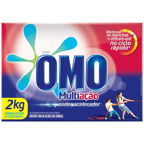 Detergente Po Omo 2kg Multiacao 9x1