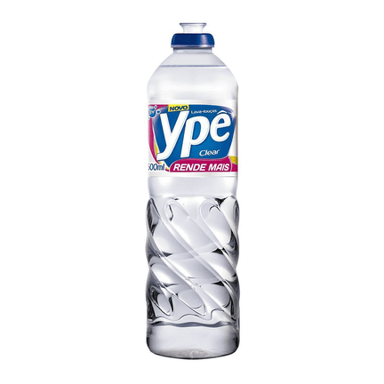 Detergente Ype Clear 500Ml