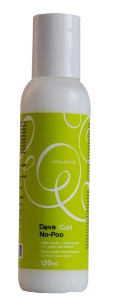 Deva Curl No-Poo Shampoo Condicionador 120ml