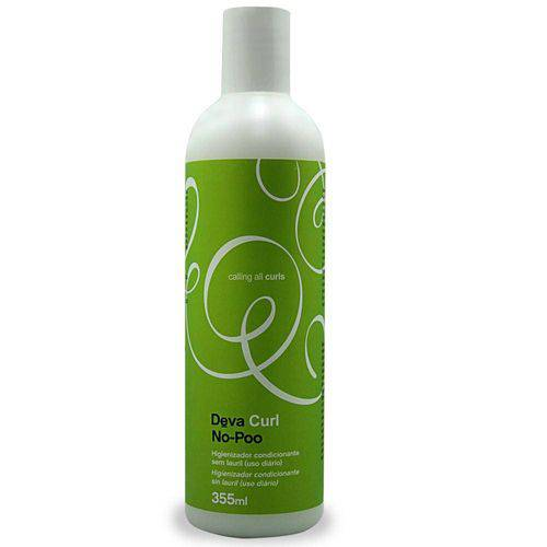 Deva Curl No-Poo Shampoo Cremoso 355 Ml