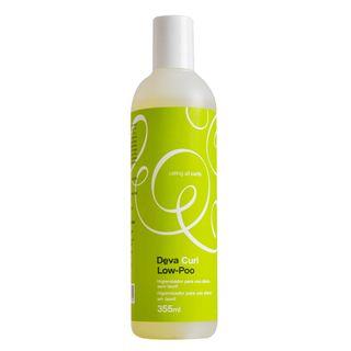 Deva Curl Shampoo Low-Poo - Shampoo Higienizador com Pouca Espuma 355ml