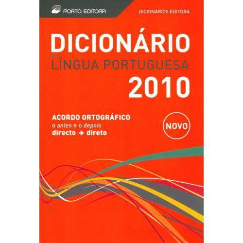 Dicionario da Lingua Portuguesa - Porto 2010