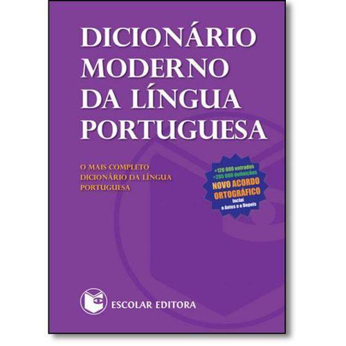 Dicionário Moderno da Língua Portuguesa