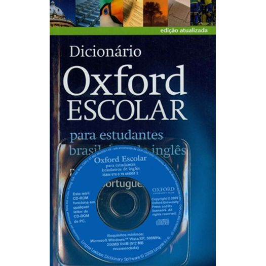 Tudo sobre 'Dicionario Oxford Escolar com CD - Oxford - 2 Ed'
