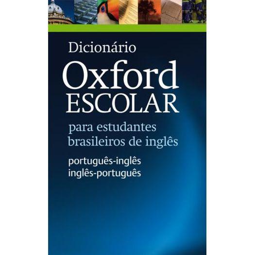 Dicionario Oxford Escolar - Oxford - 2 Ed